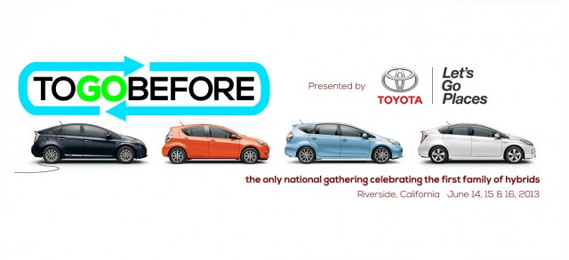 To Go Before 2013 - national gathering of Toyota Prius owners