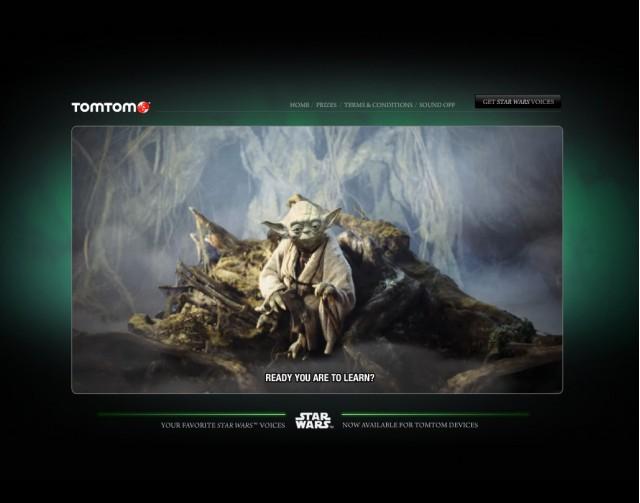TomTom's interactive Star Wars game