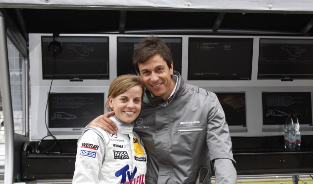 Toto Wolff and wife Susie