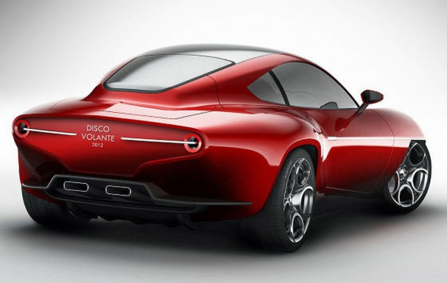 Touring Superleggera Disco Volante 2012 Concept