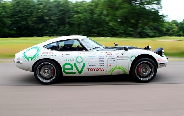 Toyota 2000GT EV [Image: blog.toyota.co.uk]