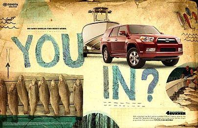 Toyota 4Runner 'You In' ad