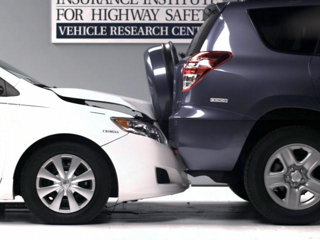 Toyota Corolla and Toyota RAV4 bumper mismatch