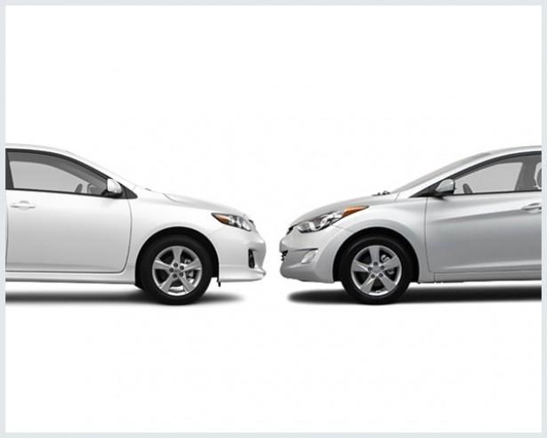Toyota Corolla Vs. Hyundai Elantra