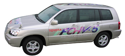 Toyota develops next-generation fuel cell hybrid