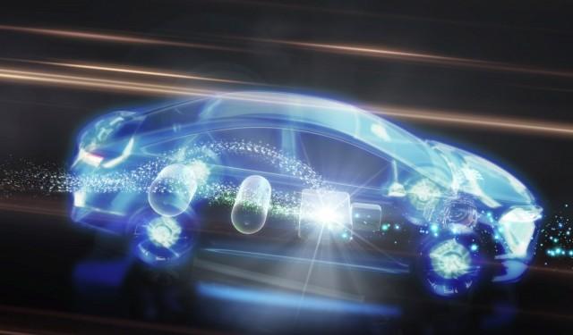 Toyota FCV-R concept, 2013 Frankfurt Auto Show