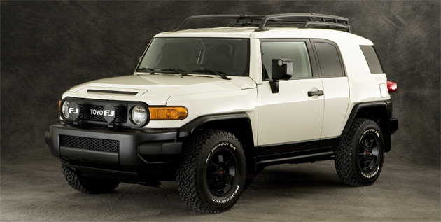 The FJ Cruiser Trail Teams Special Edition is expected to be offered for sale in limited numbers towards the end of the year