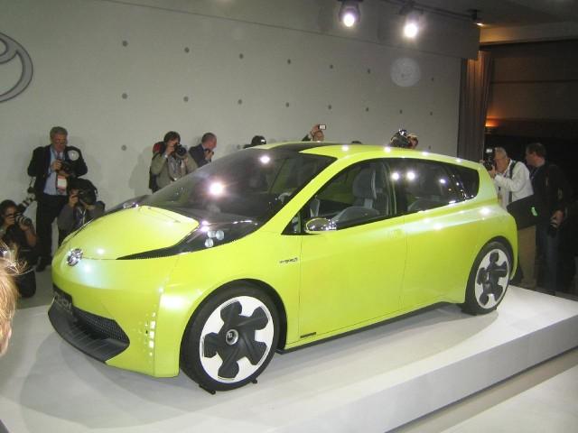 Toyota FT-CH hybrid concept car, 2010 Detroit Auto Show