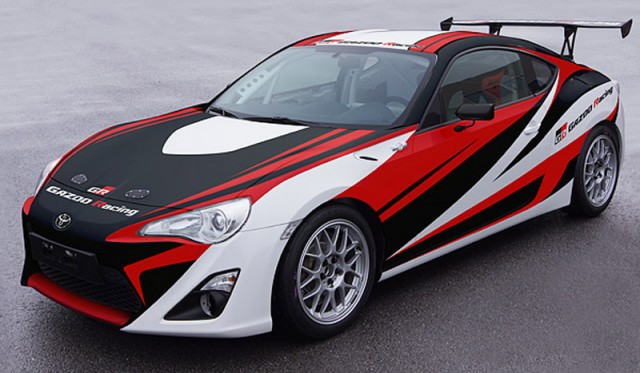 Toyota GT 86 race car prepared by Gazoo Racing