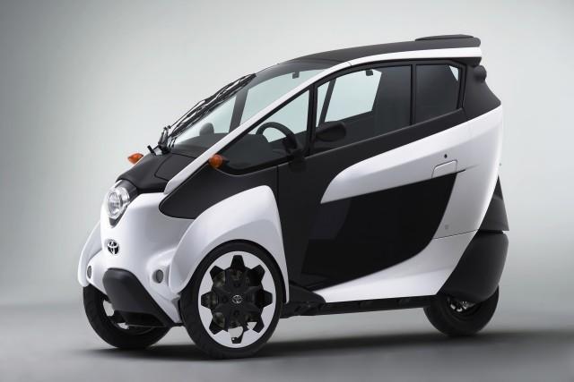 Toyota i-Road electric urban mobility vehicle