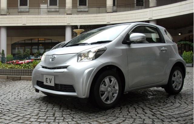 Toyota iQ EV prototype