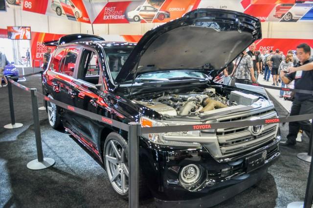 Toyota Land Speed Cruiser concept, 2016 SEMA show