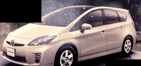 Toyota Prius station wagon, from BurlappCars.com