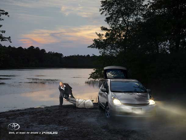 Outrageous Prius Ads: What's Real and What's Fake?