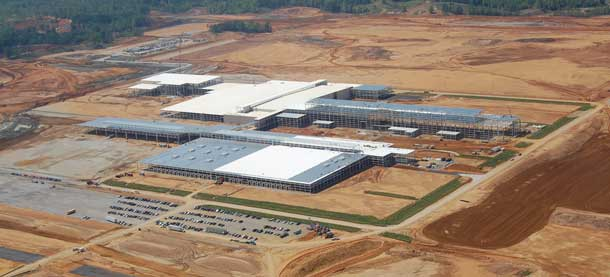 Toyota site in Blue Springs, Mississippi, from Flickr user CochranForSenate