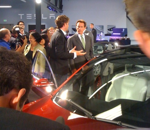 Toyota-Tesla press conference, Palo Alto, California, on May 20, 2010