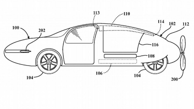 Toyota Cartivator SkyDrive flying car patent