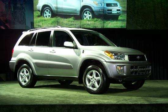 Toyota Rav 4, 2000 New York Auto Show