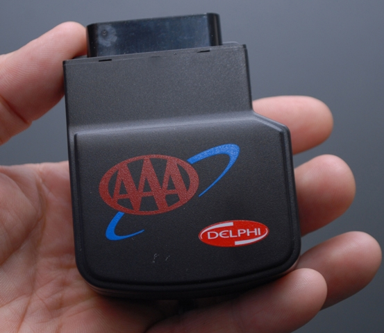Tracking device for AAA's 'ACE Teen Pilot Program""