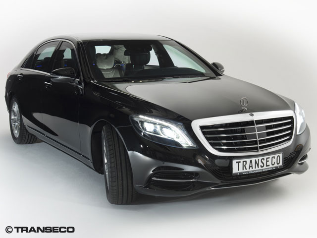Transeco armored 2014 Mercedes-Benz S-Class
