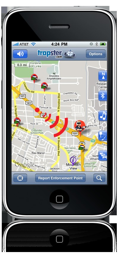Trapster: The Joys Of Texting & Speeding In One Mobile App