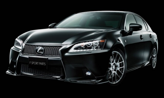 TRD accessories for the 2013 Lexus GS range