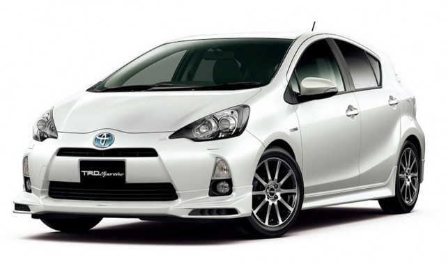 TRD and Modellista enhancements for the Toyota Aqua (Prius C)