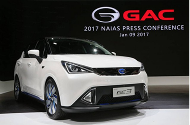 China S Gac Returns To Detroit Auto Show With 3 New Cars