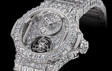 Two million euro Hublot BB watch