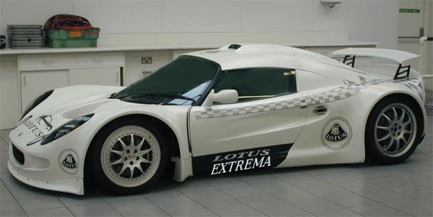 Uk garage introduces v8 powered lotus extrema for Garage lotus