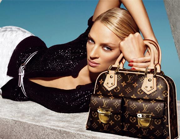 Uma Thurman for Louis Vuitton