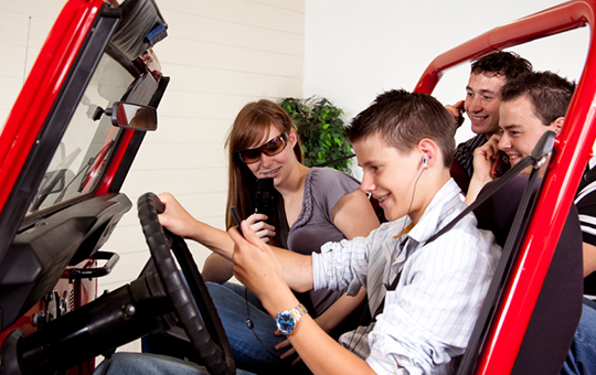 UMTRI-Toyota teen driver distraction study