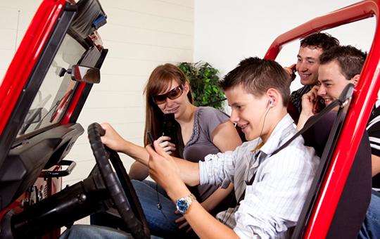 UMTRI-Toyota teen driver distraction study