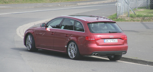 Update: 2009 Audi S4 Avant spy shots