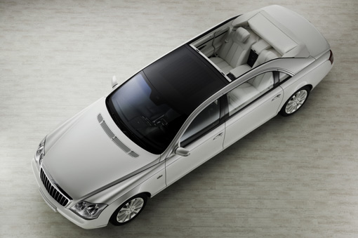 Updated: Maybach 62 Landaulet Study