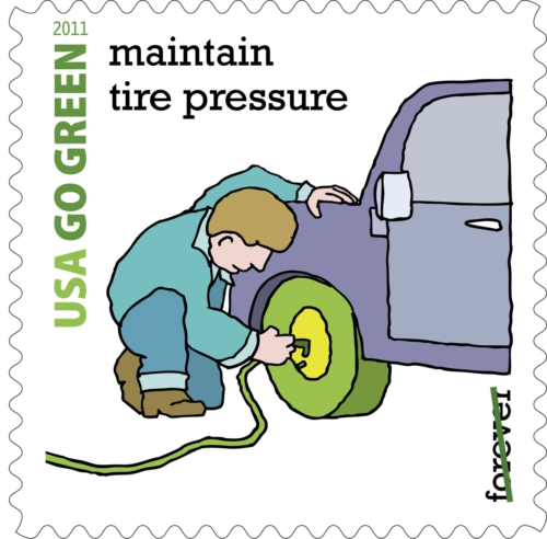 USPS Go Green Stamp