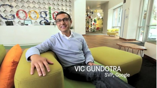 Vic Gundotra, SVP for Google
