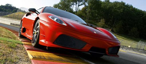 Video: Michael Schumacher & the Ferrari F430 Scuderia