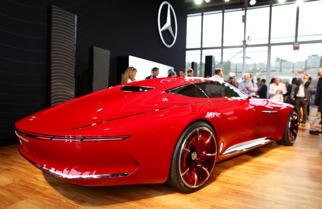 vision mercedes-maybach 6 concept is a mega electric coupe   best