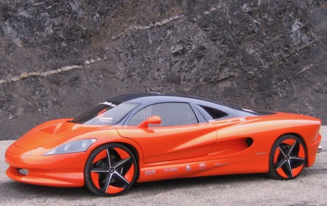 Boutique supercar prototype