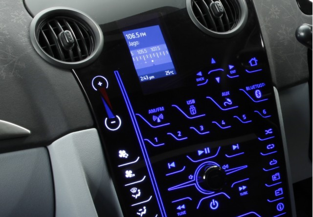 Visteon Growth Market concept car console