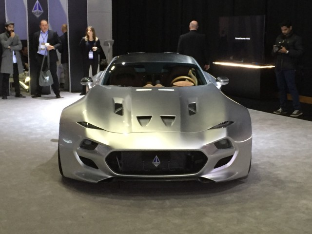 VLF Automotive Force 1 - 2016 Detroit Auto Show live photos