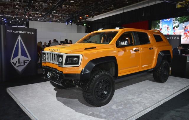 VLF X-Series, 2017 Detroit auto show