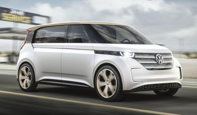 Volkswagen de Budd-E Concept