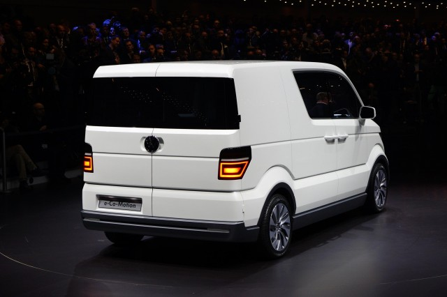 Volkswagen e-Co-Motion electric van concept, 2013 Geneva Motor Show