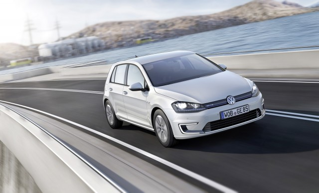 Volkswagen e-Golf (German version)