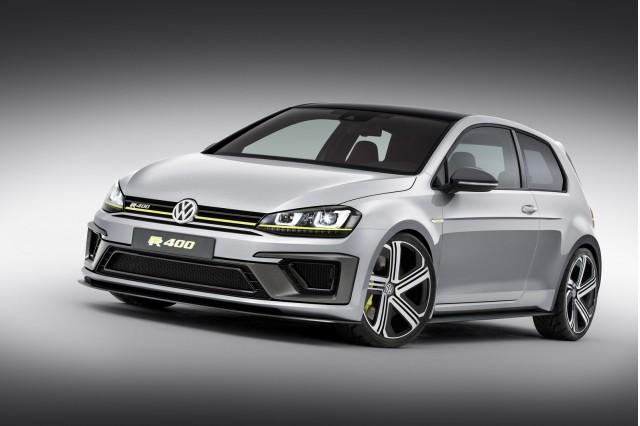 Volkswagen Golf R 400 concept, 2014 Beijing Auto Show