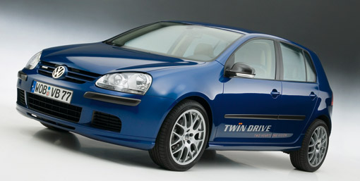 Volkswagen Golf 'Twin Drive' plug-in hybrid