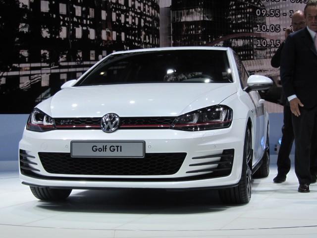 Volkswagen GTI 'concept' launch at Paris Motor Show, September 2012