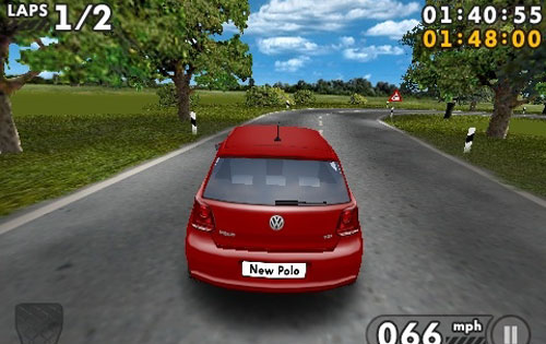 Volkswagen Polo Challenge for the iPhone and iPod Touch